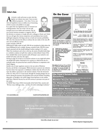 Maritime Reporter Magazine, page 9,  Feb 2004