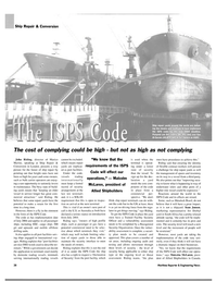 Maritime Reporter Magazine, page 43,  Feb 2004 Recognized Security Organization