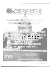 Maritime Reporter Magazine, page 45,  Feb 2004 Tourism Corporation
