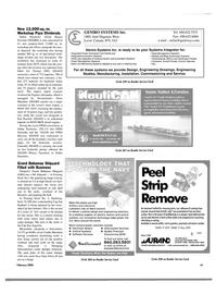 Maritime Reporter Magazine, page 46,  Feb 2004