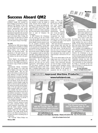 Maritime Reporter Magazine, page 54,  Feb 2004 communication systems