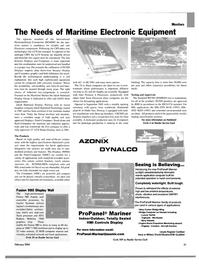 Maritime Reporter Magazine, page 56,  Feb 2004