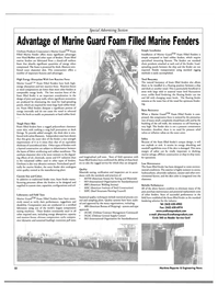 Maritime Reporter Magazine, page 57,  Feb 2004 High Energy Absorption With Low Reaction Force