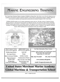 Maritime Reporter Magazine, page 4,  Feb 2004 transportation professional development program