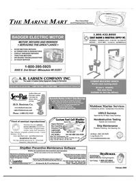 Maritime Reporter Magazine, page 63,  Feb 2004 Hour Service