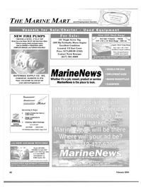 Maritime Reporter Magazine, page 65,  Feb 2004 Oregon