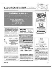 Maritime Reporter Magazine, page 66,  Feb 2004 Connecticut