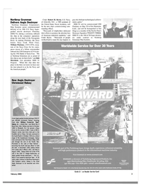 Maritime Reporter Magazine, page 6,  Feb 2004 California