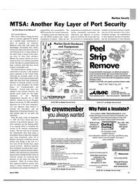 Maritime Reporter Magazine, page 17,  Mar 2004 east coast