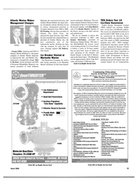 Maritime Reporter Magazine, page 23,  Mar 2004