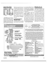 Maritime Reporter Magazine, page 23,  Mar 2004 Massachusetts