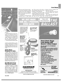 Maritime Reporter Magazine, page 37,  Mar 2004