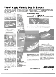 Maritime Reporter Magazine, page 41,  Mar 2004