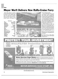 Maritime Reporter Magazine, page 10,  Apr 2004 HUGO STAMP