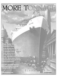 Maritime Reporter Magazine, page 19,  Apr 2004 Jon Waldron
