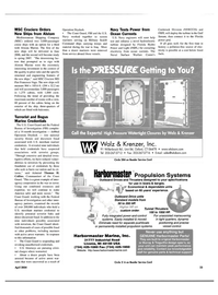 Maritime Reporter Magazine, page 23,  Apr 2004 Thomas H. Collins