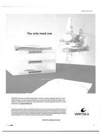 Maritime Reporter Magazine, page 27,  Apr 2004 integrated systems