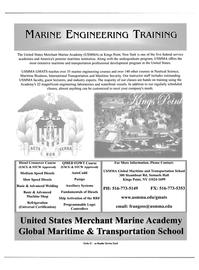 Maritime Reporter Magazine, page 1,  Apr 2004 transportation professional development program