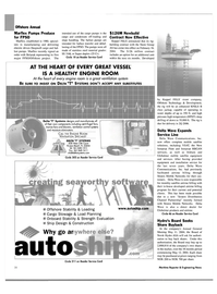 Maritime Reporter Magazine, page 28,  Apr 2004 monthly satellite airtime billing
