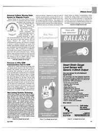 Maritime Reporter Magazine, page 31,  Apr 2004 This technology
