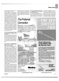 Maritime Reporter Magazine, page 37,  Apr 2004 Florida Gulf of Mexico