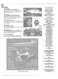 Maritime Reporter Magazine, page 2,  Apr 2004 62 Cool Technology