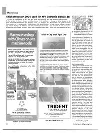 Maritime Reporter Magazine, page 38,  Apr 2004 ShipCAM