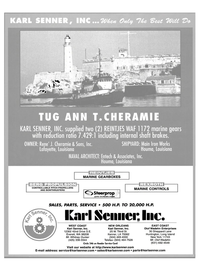 Maritime Reporter Magazine, page 3,  Apr 2004 Washington