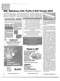 Maritime Reporter Magazine, page 56,  Apr 2004 RO Service