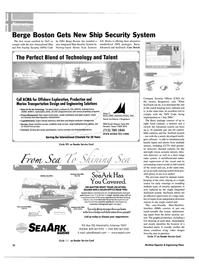 Maritime Reporter Magazine, page 60,  Apr 2004 California