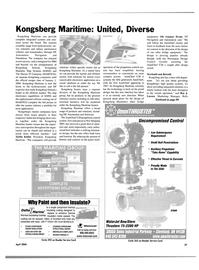 Maritime Reporter Magazine, page 61,  Apr 2004 Gunnar Hvam