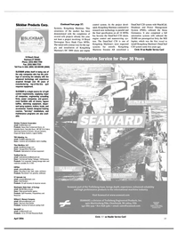 Maritime Reporter Magazine, page 4th Cover,  Apr 2004 DataChief C20