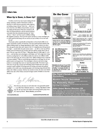 Maritime Reporter Magazine, page 6,  Apr 2004 the Offshore Annual