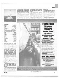Maritime Reporter Magazine, page 11,  May 2004 California