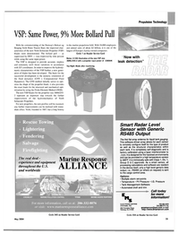 Maritime Reporter Magazine, page 39,  May 2004