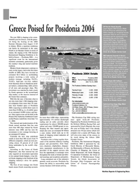 Maritime Reporter Magazine, page 46,  May 2004 Piraeus