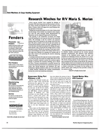 Maritime Reporter Magazine, page 56,  May 2004