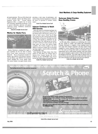Maritime Reporter Magazine, page 57,  May 2004 New York