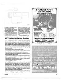 Maritime Reporter Magazine, page 4th Cover,  May 2004