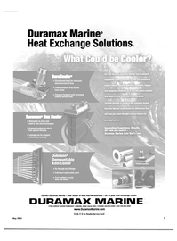 Maritime Reporter Magazine, page 5,  May 2004 engineered cooling solutions