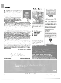 Maritime Reporter Magazine, page 6,  May 2004 Connecticut