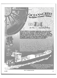 Maritime Reporter Magazine, page 67,  Jun 2004