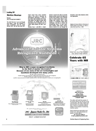 Maritime Reporter Magazine, page 8,  Jul 2004 automatic identification system