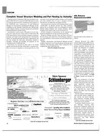Maritime Reporter Magazine, page 16,  Jul 2004 ShipConstructor2005 Smart Hull