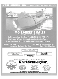 Maritime Reporter Magazine, page 1,  Jul 2004 Louisiana