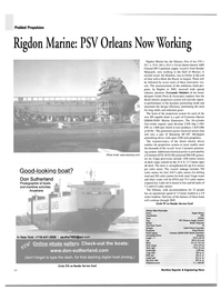 Maritime Reporter Magazine, page 34,  Jul 2004 Don Sutherland