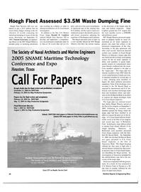 Maritime Reporter Magazine, page 40,  Jul 2004