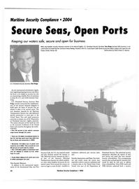 Maritime Reporter Magazine, page 42,  Jul 2004 Secure Seas