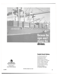 Maritime Reporter Magazine, page 47,  Jul 2004 L-3 Communications