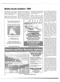 Maritime Reporter Magazine, page 50,  Jul 2004 Florida
